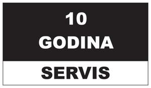 10 godina servis