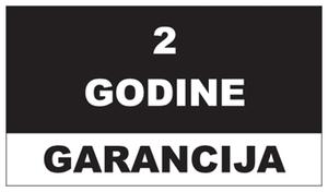 2 godine garancija